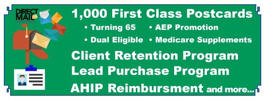 Mailers,Leads and AHIP reimbursment
